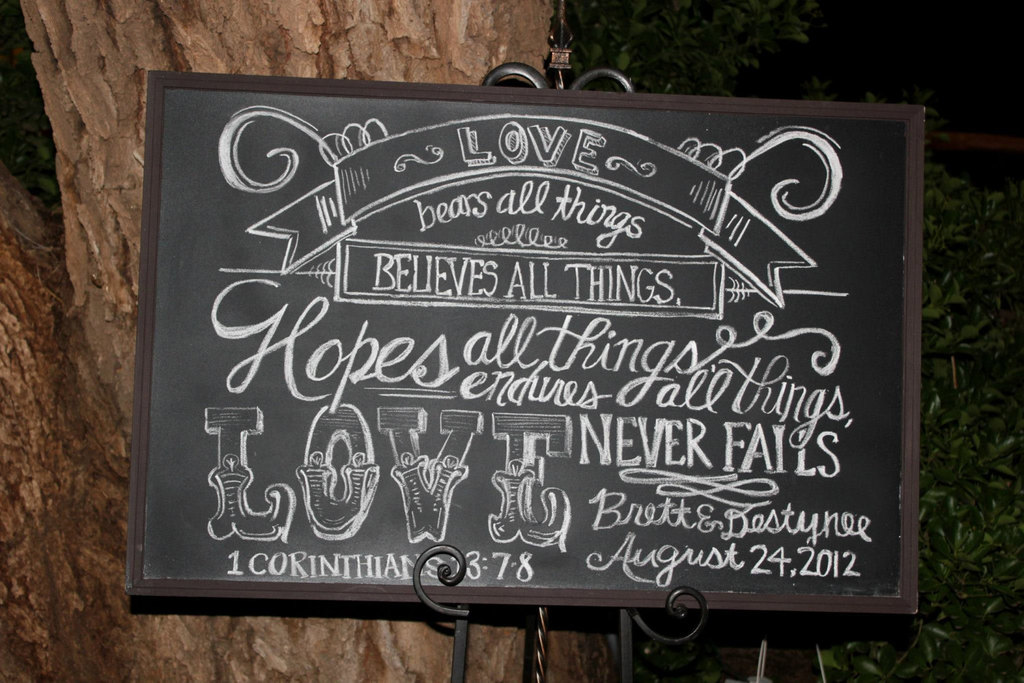 10 Steps To Perfect Chalk Board Signs Wbc Blog