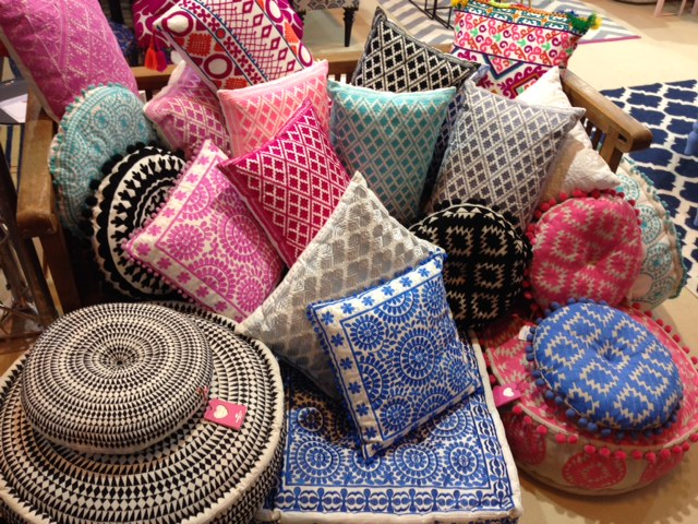 Cushions with Patterns