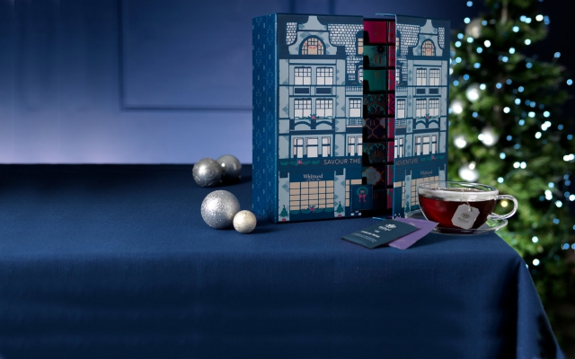 WBC bespoke packaging creates this Whittard of chelsea advent calendar