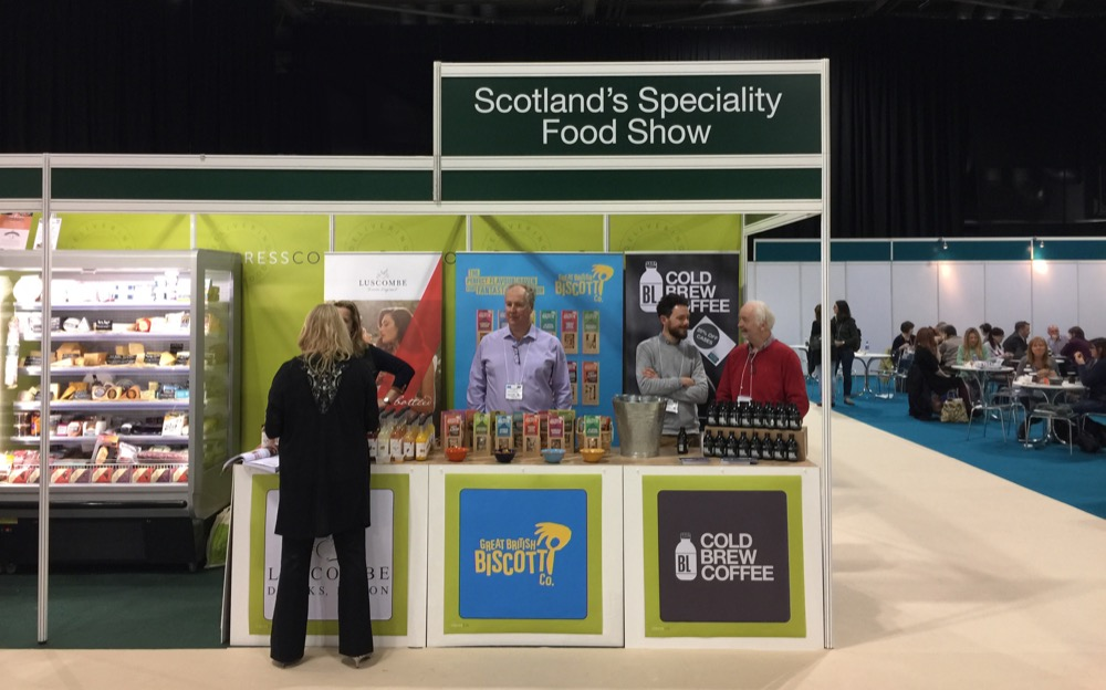 WBC visits the Scotland Speciality Food show