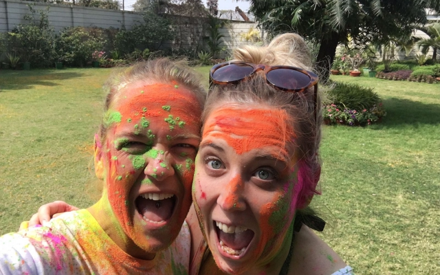 WBC bags for life celebrate HoliFest in Kolkata, India