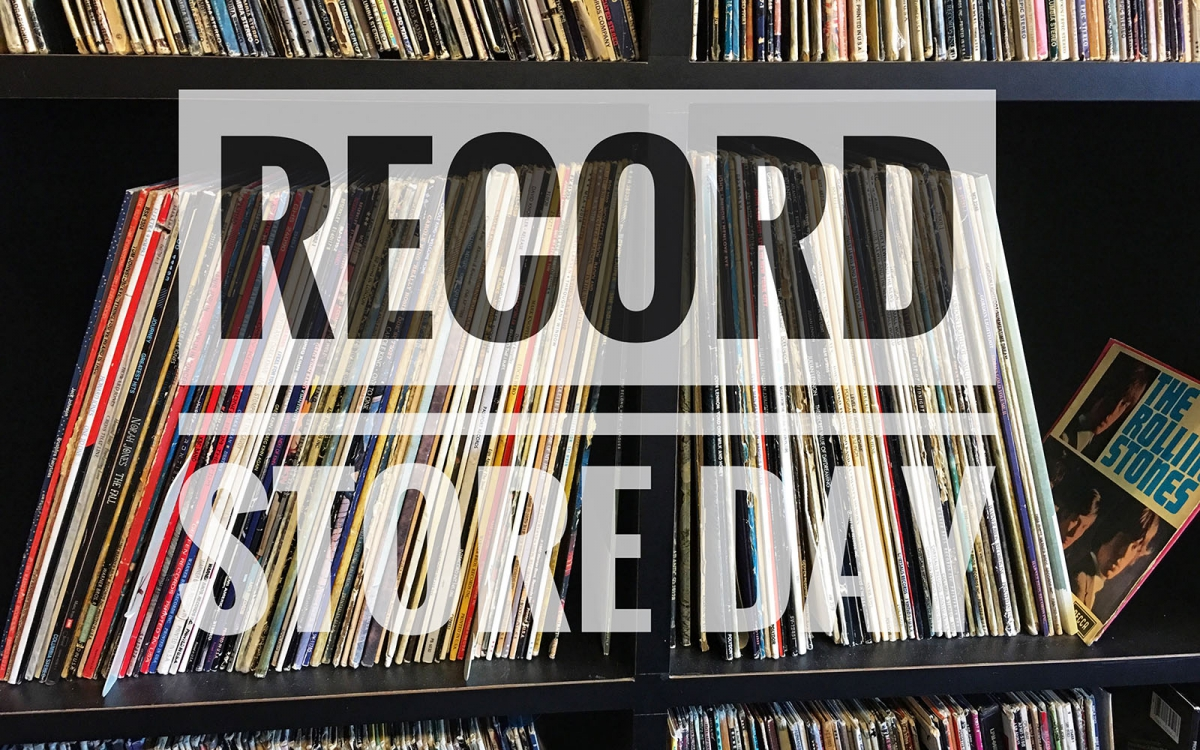 WBC supporting Record Stor Day with Record store bags
