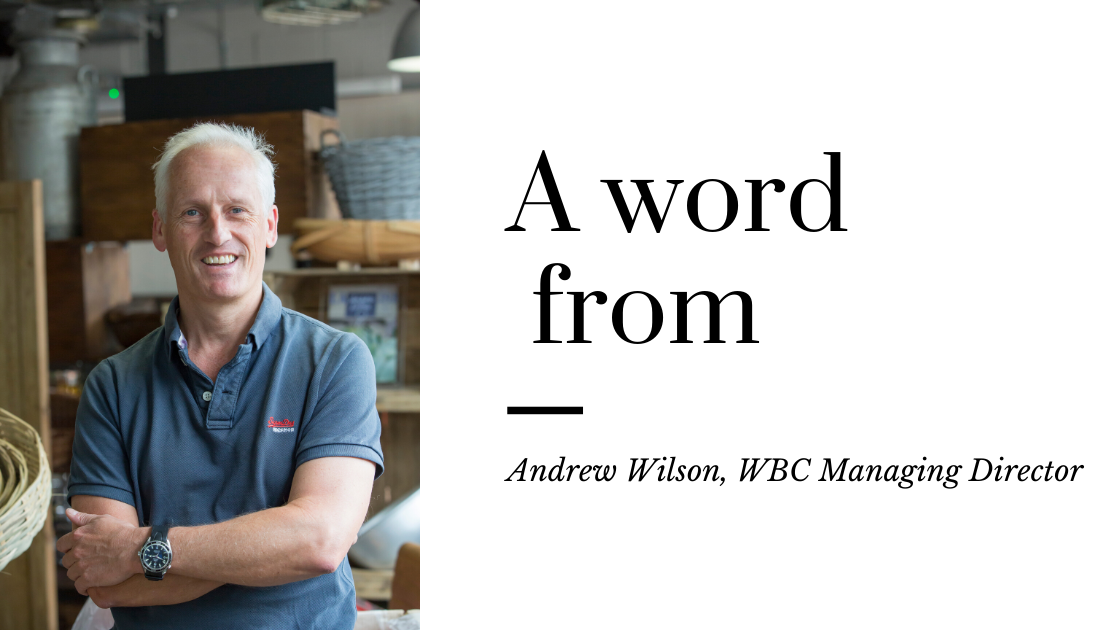 A word from Andrew