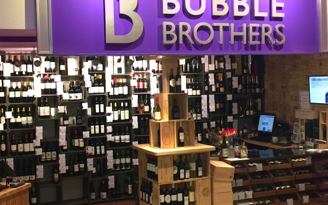 Bubble brothers using WBC pulpsafe for wine delivery
